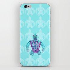 Tomas in Aqua iPhone Skin