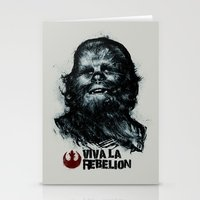 che Stationery Cards featuring CHE-wbacca by Carlos Rocafort