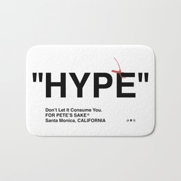 """""""HYPE"""" Bath Mat"""