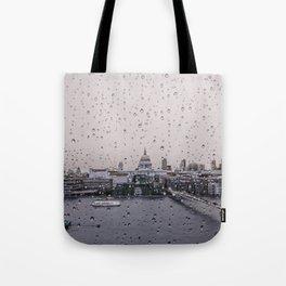 Rainy St. Paul's Tote Bag