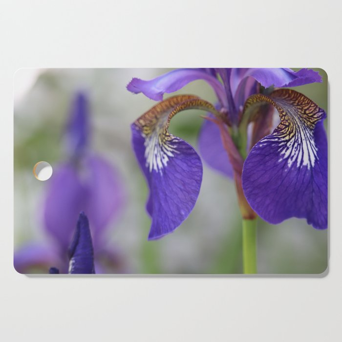 Iris garden Cutting Board
