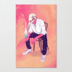 Nascentes Morimur Canvas Print