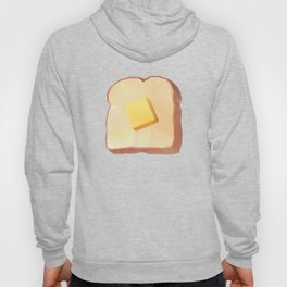 Toast with Butter polygon art Hoody