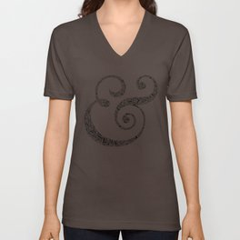 The Ampersand of Ampersands Unisex V-Neck