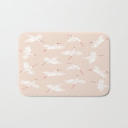Crane Dance Bath Mat