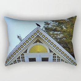 Yellow Point Rectangular Pillow