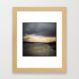 GUADALUPE RIVER  Framed Art Print