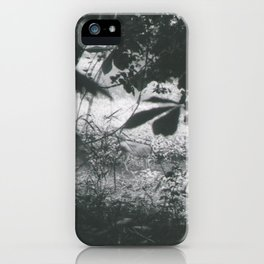 Deer Through the Leaves iPhone Case