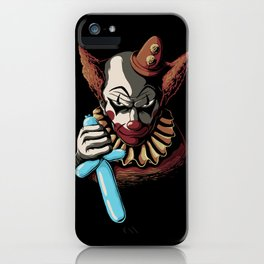 Clowns are Evil iPhone Case