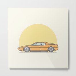 BMW M1 vector illustration Metal Print