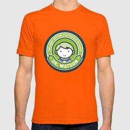 Cute John Watson - Green T-shirt