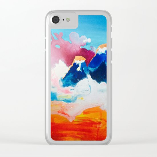 Ah Create And Destroy Clear iPhone Case