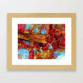 Igneous Rock Framed Art Print