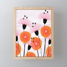 Weird Flowers Framed Mini Art Print