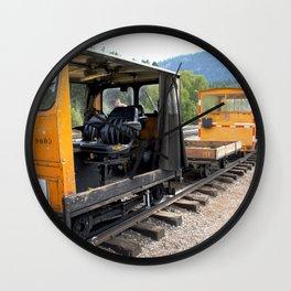 At the Rockwood Depot of the Durango & Silverton NG Railroad Wall Clock