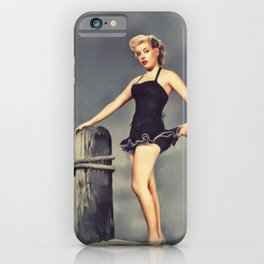 Gloria DeHaven, Vintage Actress iPhone Case
