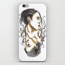 Me Melanger iPhone Skin