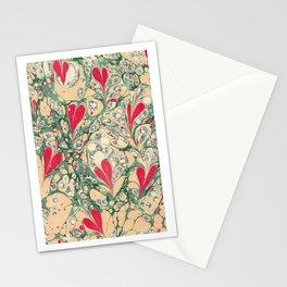 Valentine's Day, Alla hjärtans dag, Swirling harts <3 Stationery Cards
