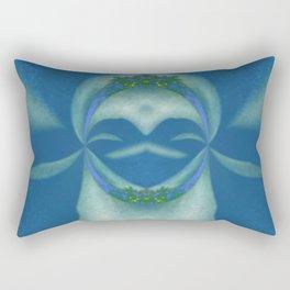 Peaceful Warrior Rectangular Pillow
