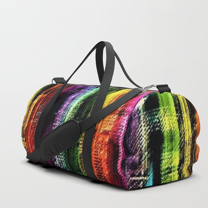 New York City in Living Color Landscape by Jeanpaul Ferro Duffle Bag