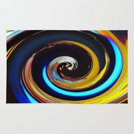 Swirling colors 03 (Swirl) Rug