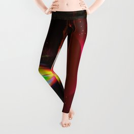 Our world is a magic - Sunset Leggings