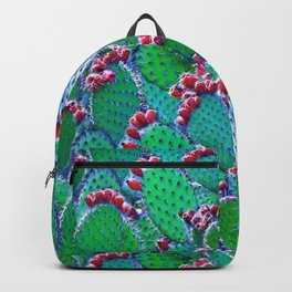 Flowering cacti Backpack