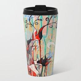 Koi Fish: Bringer Of Good Fortune Metal Travel Mug