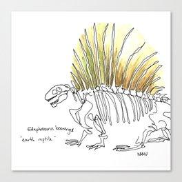 Earth Reptile Canvas Print