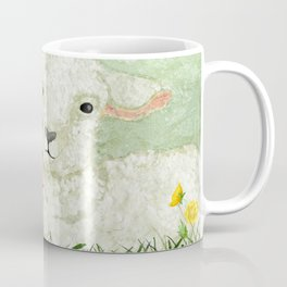 Lamb and Piglet Coffee Mug