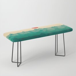 The ocean, the sea, the wave Bench