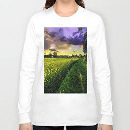 Rapeseed Sunset Long Sleeve T-shirt