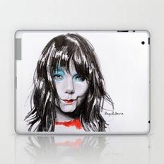 Bjork Portrait Laptop & iPad Skin