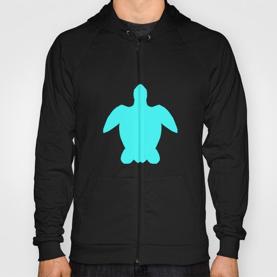 Sea turtle teal Hoody
