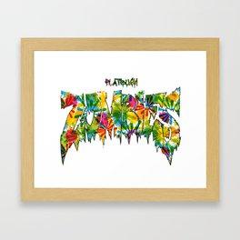 Flatbush Zombies Framed Art Print