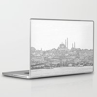 istanbul Laptop & iPad Skins featuring İstanbul by Necla Karahalil