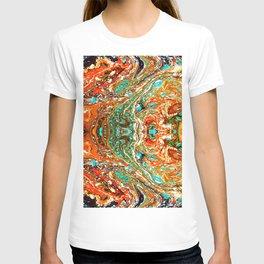 abstarct shapes 5 T-shirt
