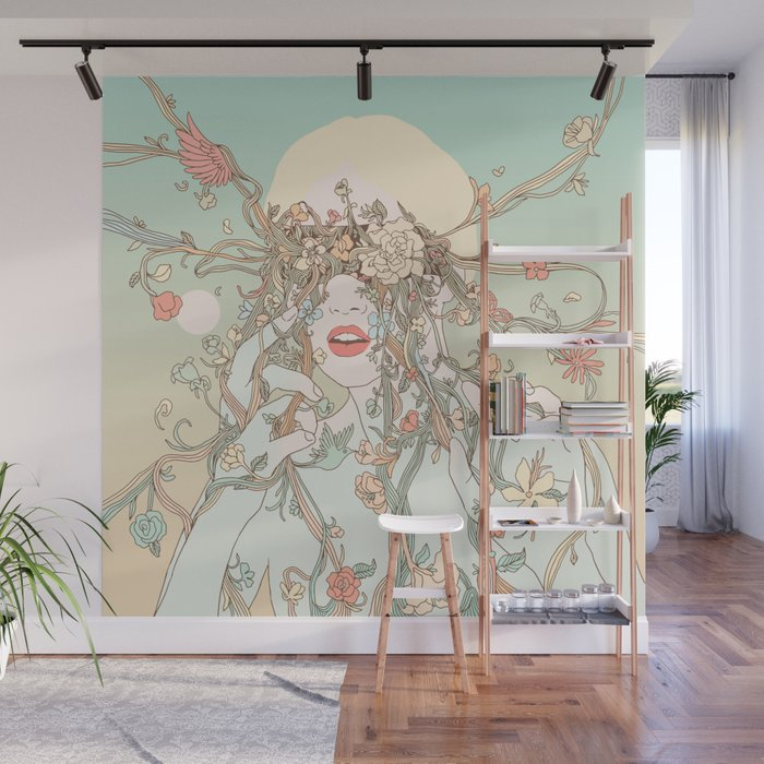 A Natural View (Life Before My Eyes) Wall Mural