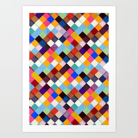 Pass this Bold Art Print