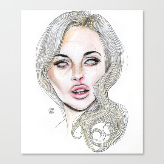 Lindsay By Lucas David 2015 Canvas Print