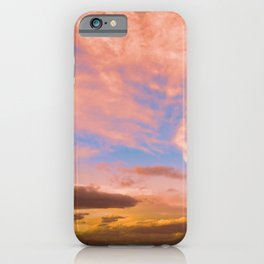 0278 Southern California Desert Sunsets iPhone Case