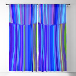 New Year Stripes Blackout Curtain
