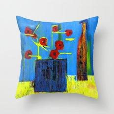 simple still life Throw Pillow