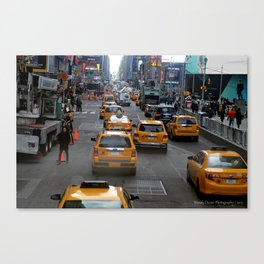 Taxi's of NYC Canvas Print