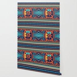 Colorful Hunab Ku Mayan symbol #2 Wallpaper