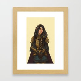 Fingon the Valiant Framed Art Print