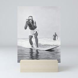 The Surfing Photo Mini Art Print