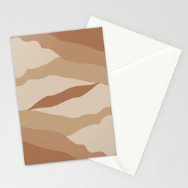 Gold Desert Stationery Cards