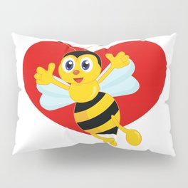 bee love Pillow Sham
