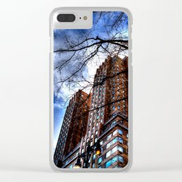 NYC Clear iPhone Case